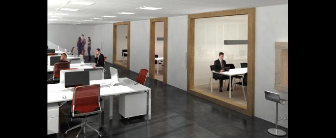 Dise o de oficinas arquitectura de oficinas for Diseno de oficinas